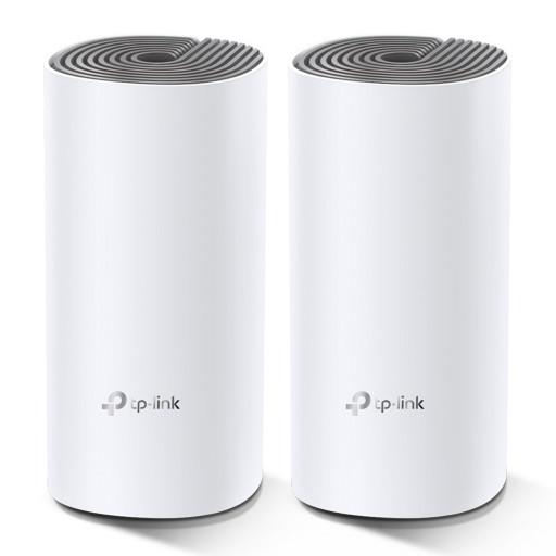 Sistem Wi-Fi Mesh TP-Link Deco E4 (2-pack) - 867/300 Mbps