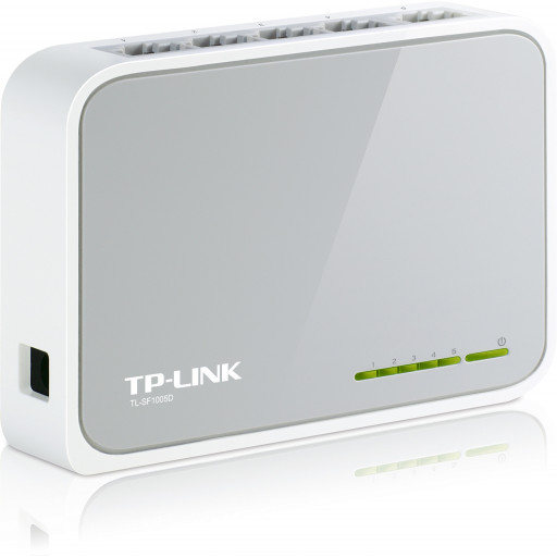 Switch 5 porturi TP-LINK TL-SF1005D
