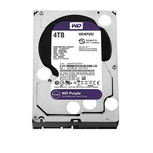"HDD 4 TB Western Digital Purple WD40PURZ SATA-III 3.5"""