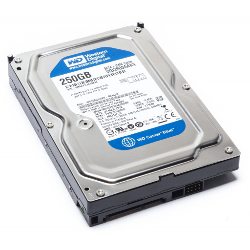 "HDD 250 GB S-ATA Western Digital 3,5"" - reconditionat"