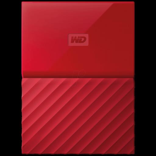 "HDD extern Western Digital My Passport 1 TB 2.5"" red"