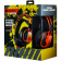 CANYON Gaming headset 3.5mm jack plus USB connector for vibration function, light control button, adjustable microphone and volume control, cable 2M, Black, 0.43kg