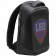 LEDme backpack, animated backpack with LED display, Polyester+TPU material, Dimensions 42*31.5*15cm, LED display 64*64 pixels, black