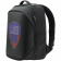 LEDme backpack, animated backpack with LED display, Nylon+TPU material, Dimensions 42*31.5*20cm, LED display 64*64 pixels, black
