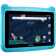 """Prestigio Smartkids, PMT3197_W_D_BE, wifi, 7"""" 1024*600 IPS display, up to 1.3GHz quad core processor, android 8.1(go edition), 1GB RAM+16GB ROM, 0.3MP front+2MP rear camera,2500mAh battery"""
