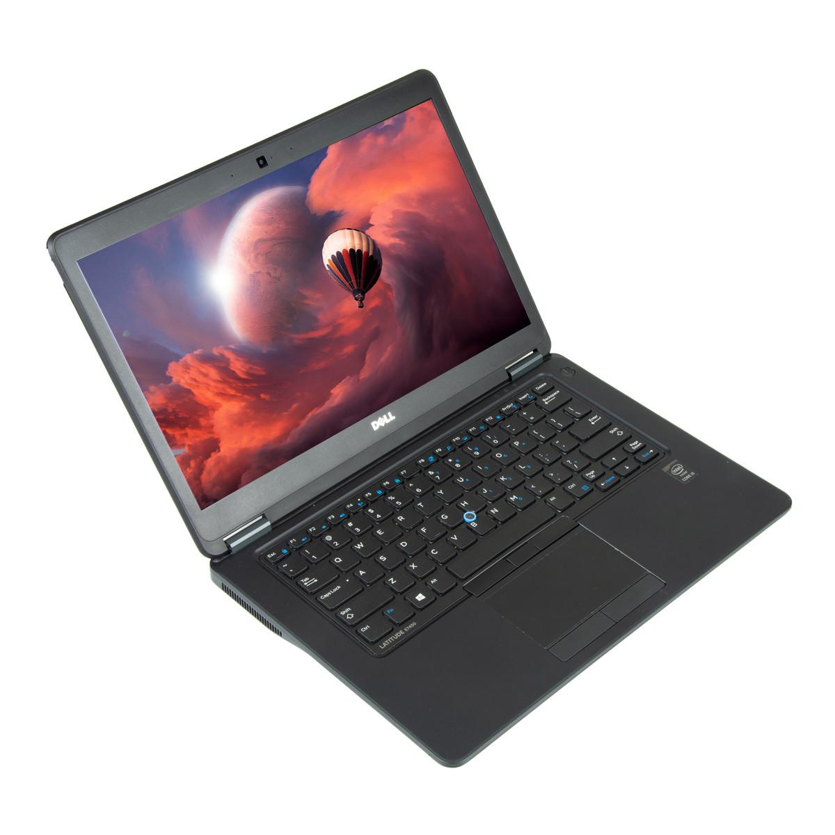 Dell Latitude E7450 14 inch LED, Intel Core i5-5300U 2 30 GHz, 8 GB DDR 3,  256 GB SSD, Webcam