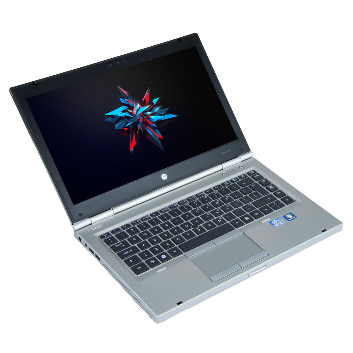 HP Elitebook 8470p 14 inch LED, Intel Core i5-3360M 2 80 GHz, 8 GB DDR 3,  256 GB SSD, DVD-RW, Webcam, Windows 10 Pro MAR