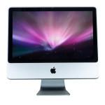 Apple iMac A1224 9.1, 20 inch , Intel C2D E8135 2.66GHz, 8GB DDR3, 250GB SSD, DVD-RW, Webcam