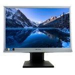 Hannspree HP222, 22 inch LCD, 1680 x 1050, 16:10, negru - argintiu