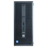 HP EliteDesk 800 G2, Core i5-6500 pana la 3.60GHz, 8GB DDR4, 256GB SSD, Tower, calculator refurbished