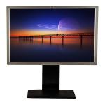 HP LP2465, 24 inch LCD, 1920 x 1200 Full HD, 16:10, negru - argintiu
