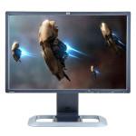 HP LP2475W, 24 inch IPS LCD, 1920 x 1200 Full HD, 16:10, HDMI, displayport, negru - argintiu