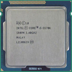 Intel Core i5-3570K 3.40 GHz - second hand