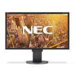 NEC EA224WMI, 22 inch IPS LED, 1920 x 1080, 16:9, displayport, negru - argintiu