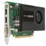 Placa video nVidia Quadro K2000 2GB GDDR5 - second hand