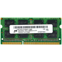 Memorie notebook DDR3 4 GB 1600 MHz Micron