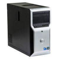 Dell Precision T1600 Intel Xeon E3-1225 v1 3.10 GHz, 8 GB DDR 3, 500 GB HDD, DVD-ROM, 1 GB GeForce 605, Tower