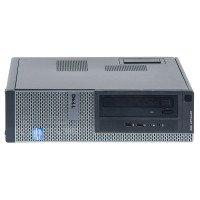 Dell Optiplex 390 Intel Core i5-2400 3.10 GHz, 4 GB DDR 3, 250 GB HDD, DVD-RW, Desktop