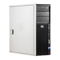HP Z400 Intel Xeon W3520 2.66 GHz, 8 GB DDR 3, 250 GB HDD, DVD-RW, 512 MB Quadro FX 580, Tower