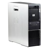 HP Z600 2 x Intel Xeon E5504 2.00 GHz, 8 GB DDR 3 ECC, 500 GB HDD, DVD-ROM, 256 MB NVS 290, Tower