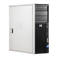 HP Z400 Intel Xeon W3505 2.53 GHz, 8 GB DDR 3 ECC, 500 GB HDD, DVD-ROM, 1 GB GeForce 605, Tower