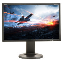 NEC MultiSync E222W, 22 inch LCD, 1680 x 1050, 16:10