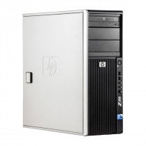 HP Z400 Intel Xeon W3503 2.40 GHz, 8 GB DDR 3, 500 GB HDD, DVD-RW, 1 GB GeForce 605, Tower