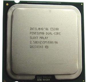 Intel Pentium Dual Core E5200 2.50 Ghz - Second Ha