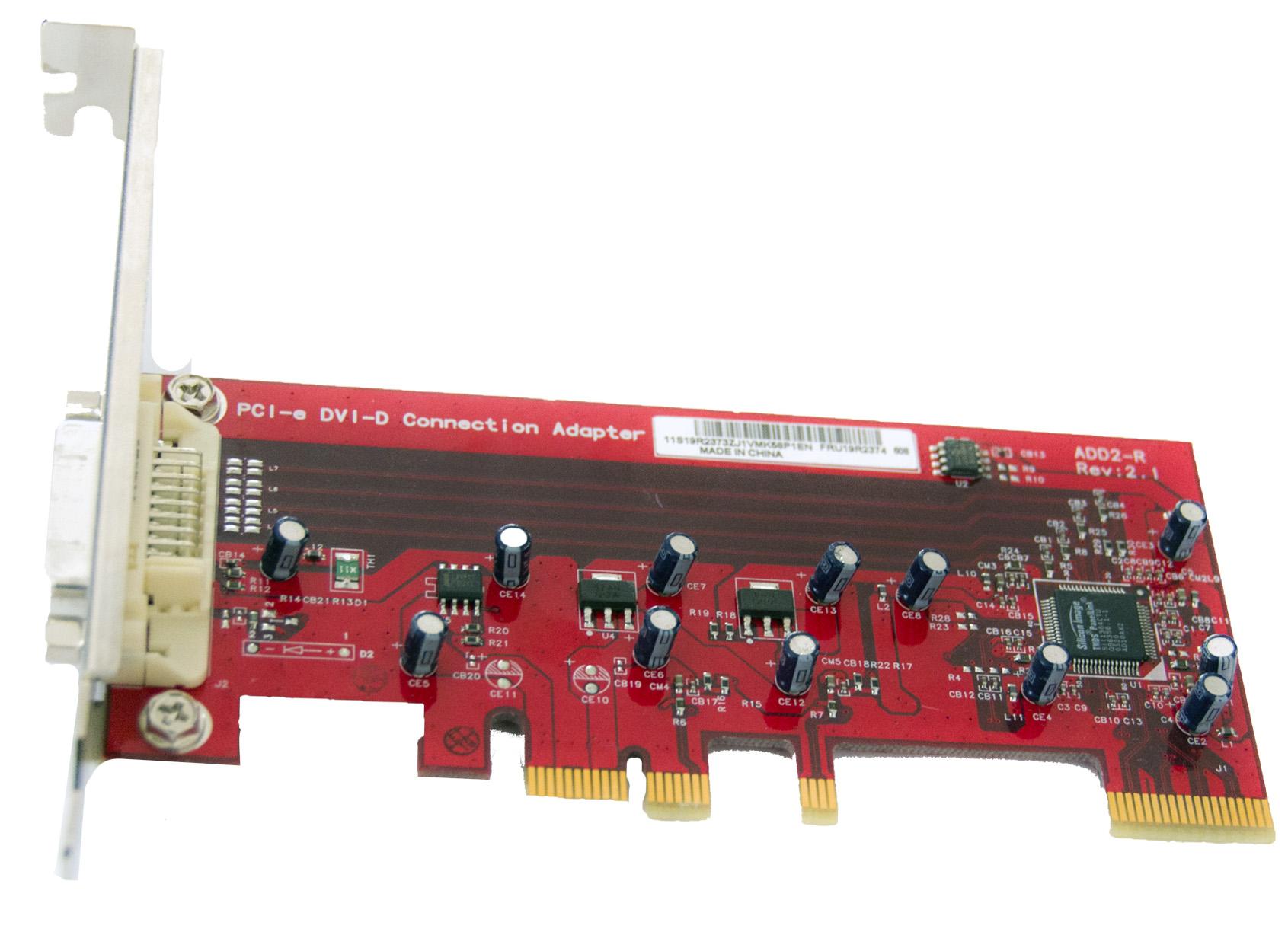 Adaptor Pci-e Dvi-d Silicon Image