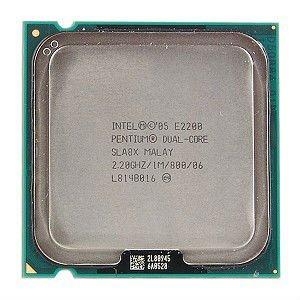 Intel Pentium Dual Core E2200 2.20 Ghz - Second Ha