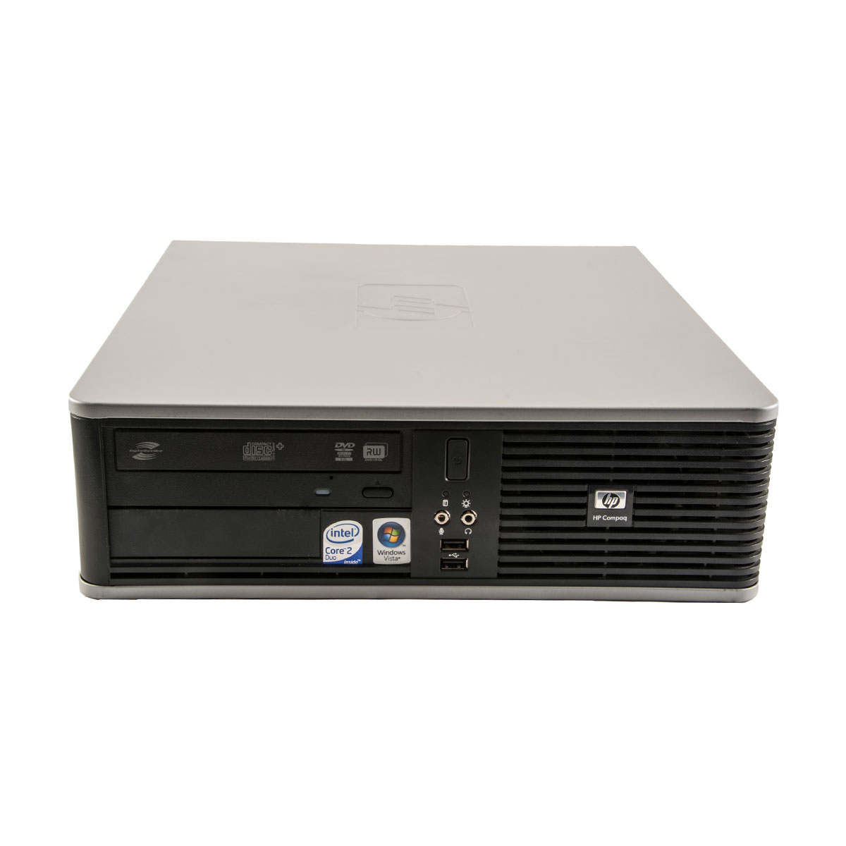 Hp Dc7900 Intel C2d E8500 3.16 Ghz 4 Gb Ddr 2 160 Gb Hdd Dvd-rom Sff