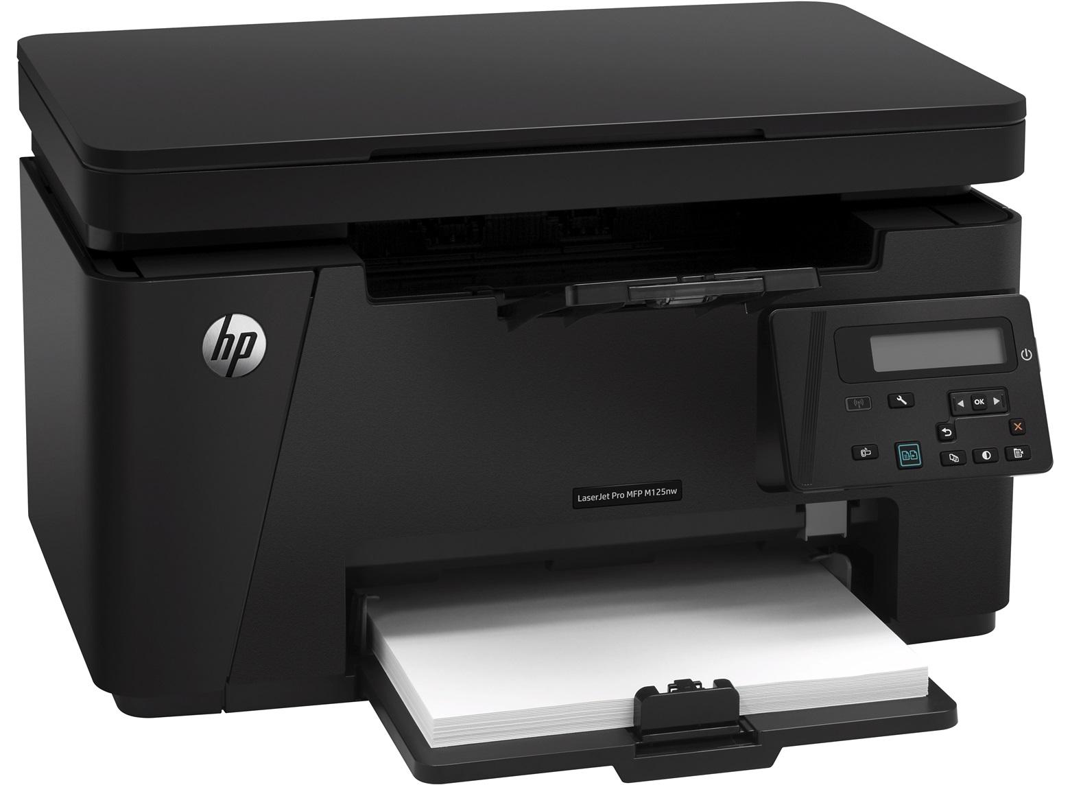 Imprimanta Multifunctionala Hp Laserjet M125nw