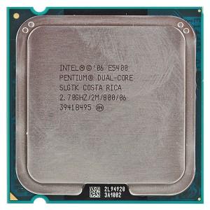 Intel Pentium Dual Core E5400 2.70 Ghz - Second Ha