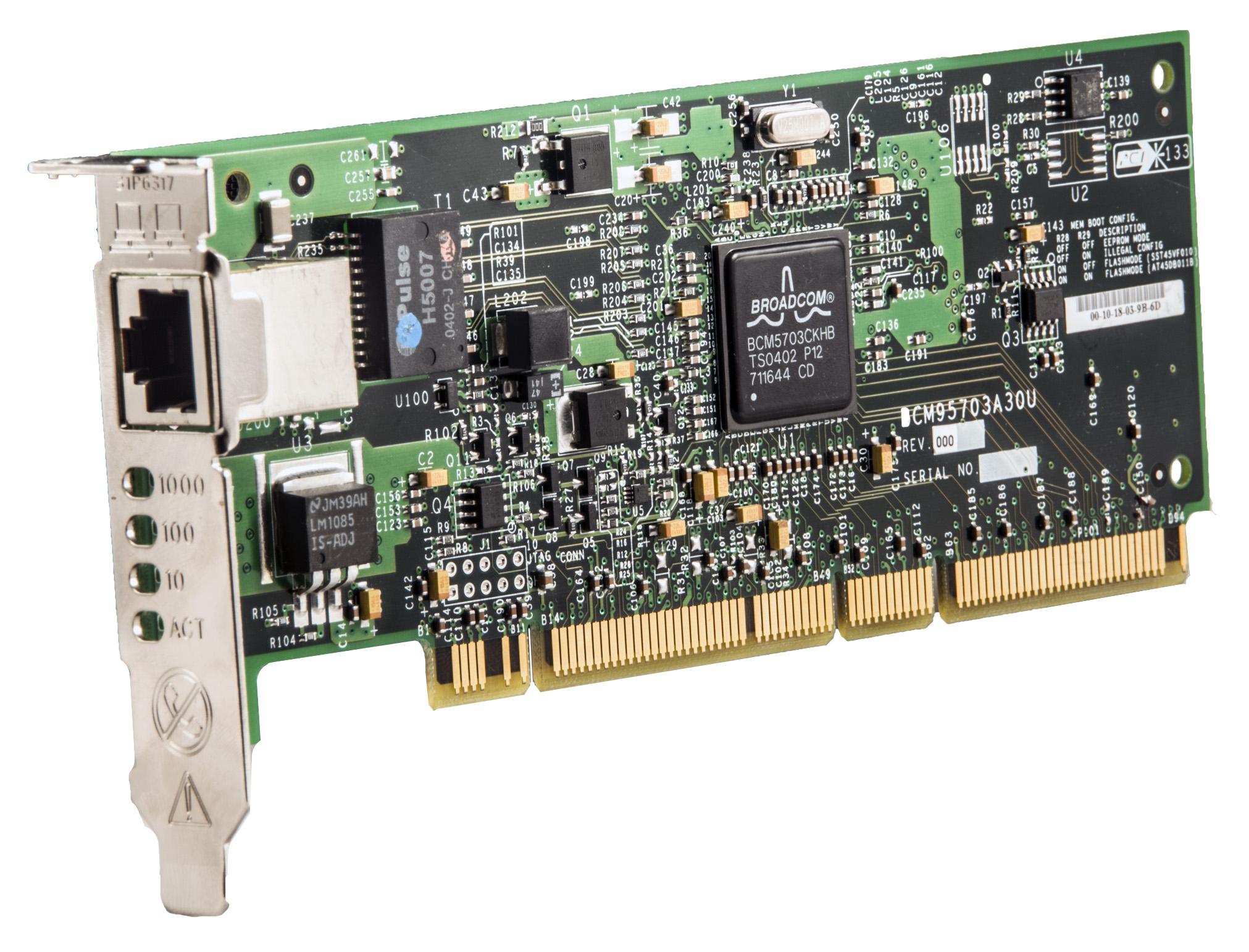 Lancard Server Broadcom 10/100/1000
