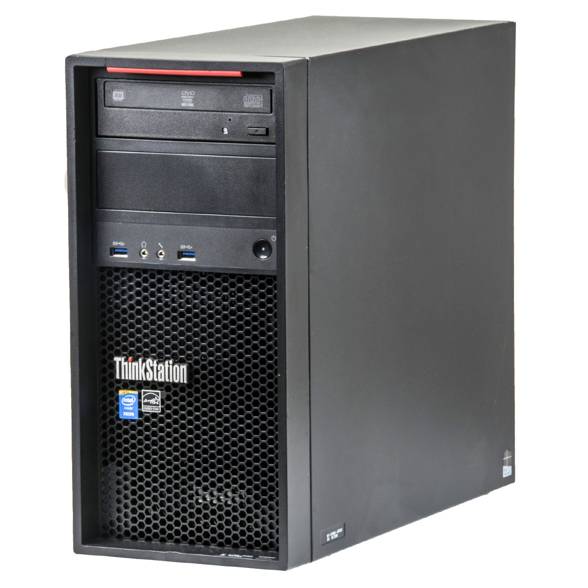 Lenovo ThinkStation P300 Intel Core i3-4160T 3.10GHz  8GB DDR3  256GB SSD  DVD-RW  Tower  workstation refurbished