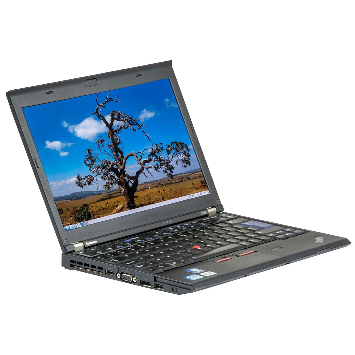 Lenovo Thinkpad X220 12.5 Led Backlit Intel Core I5-2410m 2.30 Ghz 4 Gb Ddr 3 Sodimm 320 Gb Hdd Fara Unitate Optica Webcam Windows 10 Home