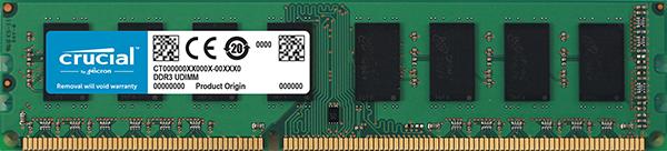 Memorie Ddr3l 4gb 1600 Mhz Crucial Ct51264bd160bj