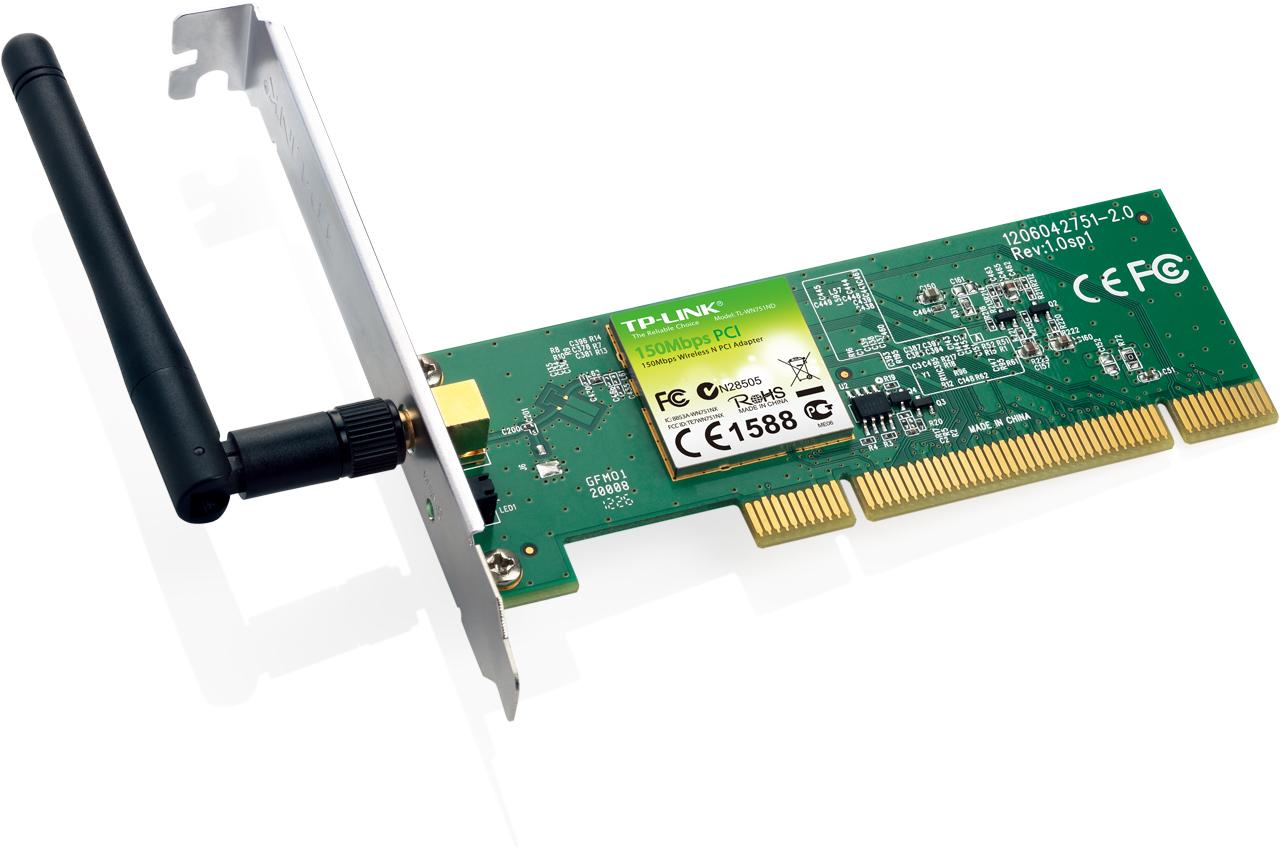 Placa Retea Wireless Tp-link Tl-wn751nd