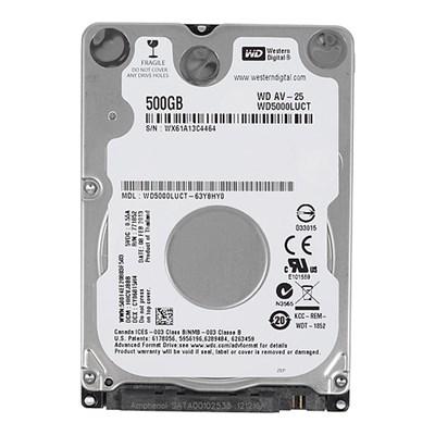 Hdd Notebook 500 Gb Sata-ii Western Digital 2.5 -