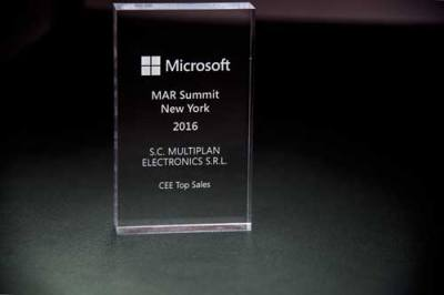 Premiul I. - Microsoft MAR Summit New York - 2016