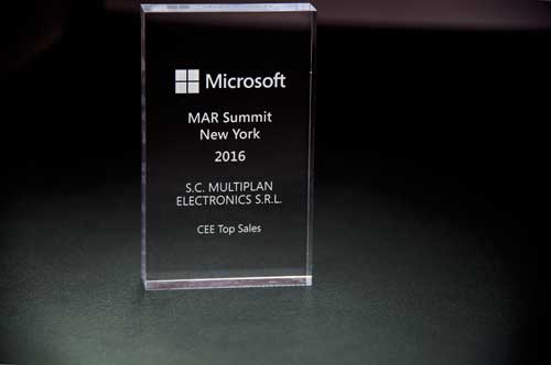 CEE Top Sales Award Microsoft