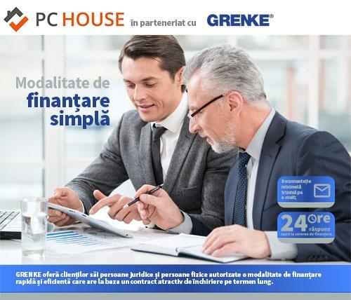 Oferta PC House in parteneriat cu Grenke