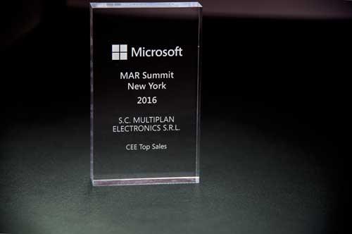CEE Top Sales Award Microsoft