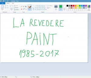 La revedere paint