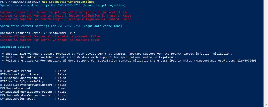 Powershell admin mode 6
